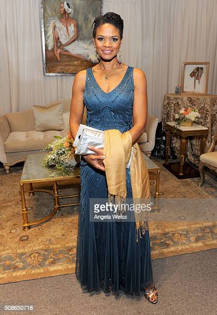 Actress Kimberly Elise attends the Backstage Creations Celebrity Retreat at The 47th NAACP Image Awards at Pasadena Civic Auditorium on February 5...