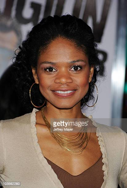 Actress Kimberly Elise attends the The Book Of Eli Los Angeles Premiere at Grauman's Chinese Theatre on January 11 2010 in Hollywood California