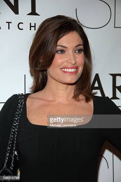 Actress Kimberly Guilfoyle arrives to the New York premiere of Sleuth at the Paris Theater on October 2 2007 in New York City