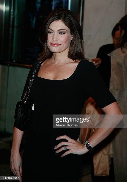 Actress Kimberly Guilfoyle sighting arriving at the New York Premiere of the movie Sleuth held at the Paris Theater on October 02 2007 in New York...