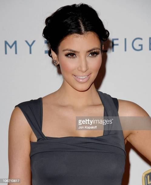 Actress Kimberly Kardashian arrives at the 16th Annual Race to Erase MS Event 'Rock to Erase MS' at the Hyatt Regency Century Plaza Hotel on May 8...