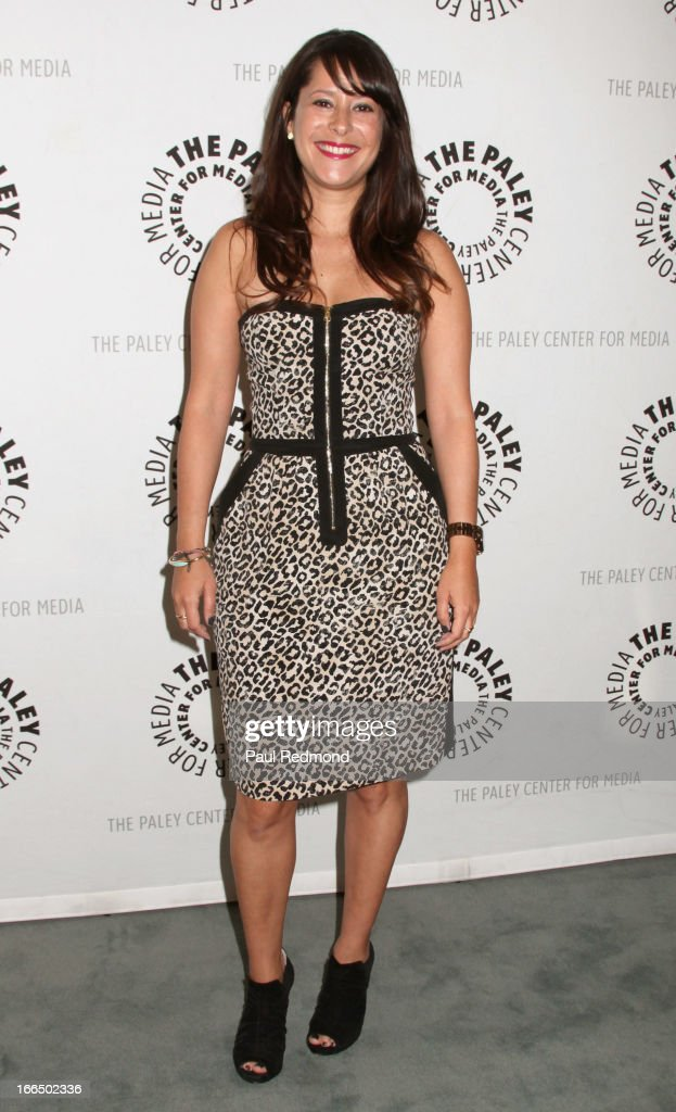 Actress Kimberly McCullough arrives at The Paley Center For Media Presents 'General Hospital: Celebrating 50 Years And Looking Forward' at The Paley Center for Media on April 12, 2013 in Beverly Hills, California.