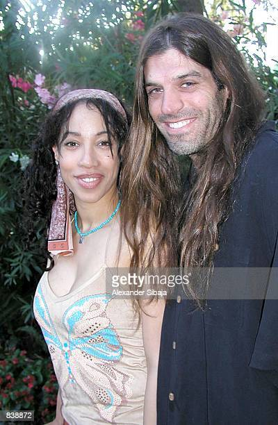 Actress Kimberly Russell and unidentified companion attend the HollyRod Foundation's 4th Annual MercedesBenz DesignCure Benefit fundraiser honoring...