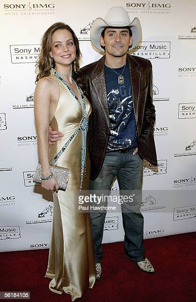 Actress Kimberly WilliamsPaisley and her husband country singer Brad Paisley attend the Sony BMG 2005 Country Music Awards after party at Gotham Hall...