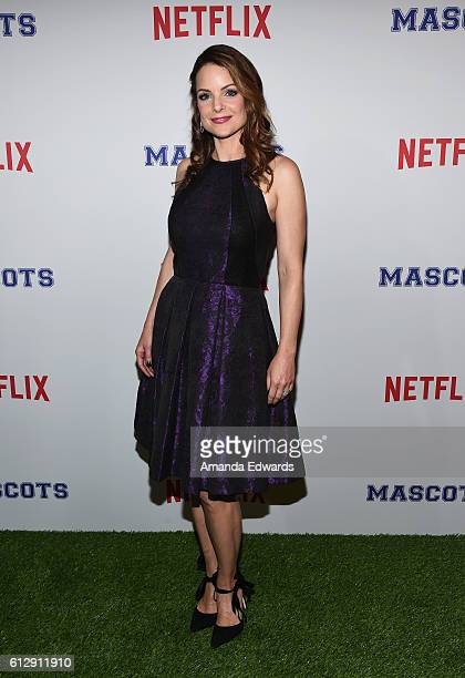 Actress Kimberly WilliamsPaisley arrives at a screening of Netflix's 'Mascots' at the Linwood Dunn Theater on October 5 2016 in Los Angeles California