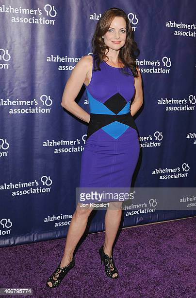 Actress Kimberly WilliamsPaisley arrives at the 23rd Annual A Night At Sardi's To Benefit The Alzheimer's Association at The Beverly Hilton Hotel on...