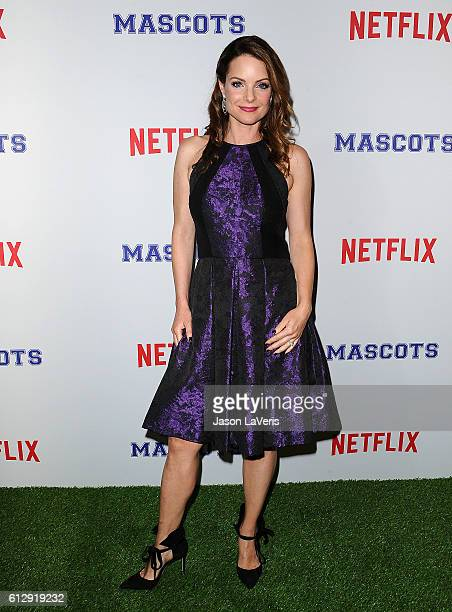 Actress Kimberly WilliamsPaisley attends a screening of 'Mascots' at Linwood Dunn Theater on October 5 2016 in Los Angeles California