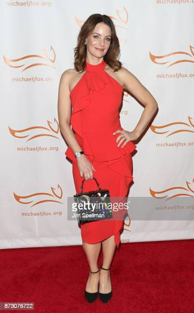 Actress Kimberly WilliamsPaisley attends the 2017 A Funny Thing Happened on the Way to Cure Parkinson's event at the Hilton New York on November 11...