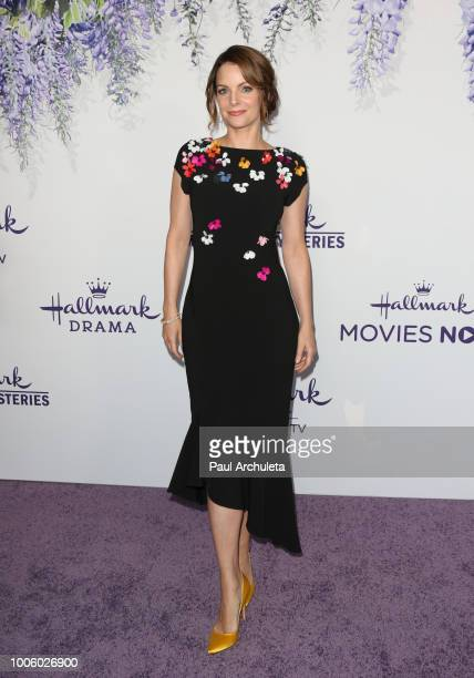 Actress Kimberly WilliamsPaisley attends the 2018 Hallmark Channel Summer TCA at Private Residence on July 26 2018 in Beverly Hills California