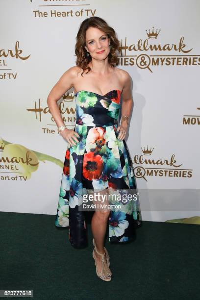 Actress Kimberly WilliamsPaisley attends the Hallmark Channel and Hallmark Movies and Mysteries 2017 Summer TCA Tour on July 27 2017 in Beverly Hills...