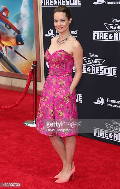 Actress Kimberly WilliamsPaisley attends the premiere of Disney's 'Planes Fire Rescue' at the El Capitan Theatre on July 15 2014 in Hollywood...