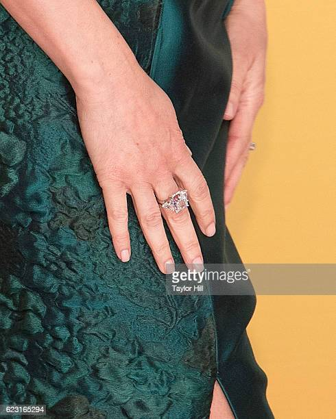 Actress Kimberly WilliamsPaisley ring detail attends the 50th annual CMA Awards at the Bridgestone Arena on November 2 2016 in Nashville Tennessee
