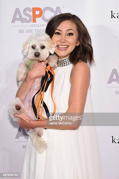 Actress Kimiko Glenn attends the ASPCA Young Friends benefit at IAC Building on October 15, 2015 in New York City.