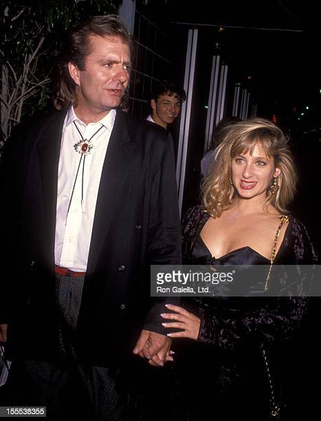 Actress Kimmy Robertson and date attend Commitment To Life IV AIDS Project Benefit on September 7 1990 at the Wiltern Theater in Los Angeles...