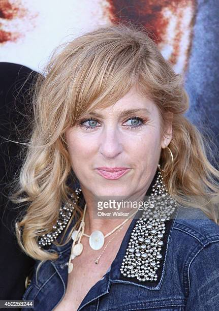 Actress Kimmy Robertson arrives at the 'Twin Peaks The Entire Mystery' Release Party at the Vista Theatre on July 16 2014 in Los Angeles California