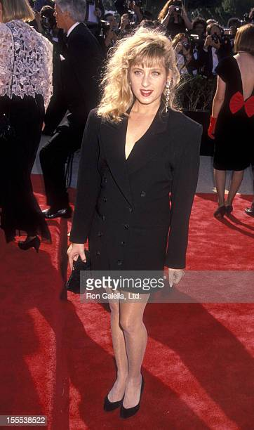 Actress Kimmy Robertson attends 42nd Annual Primetime Emmy Awards on September 16 1990 at the Pasadena Civic Auditorium in Pasadena California