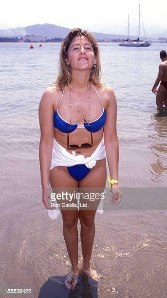 Actress Kimmy Robertson attends Las Hadas Celebrity Sports Invitational on May 11 1990 in Las Hadas California