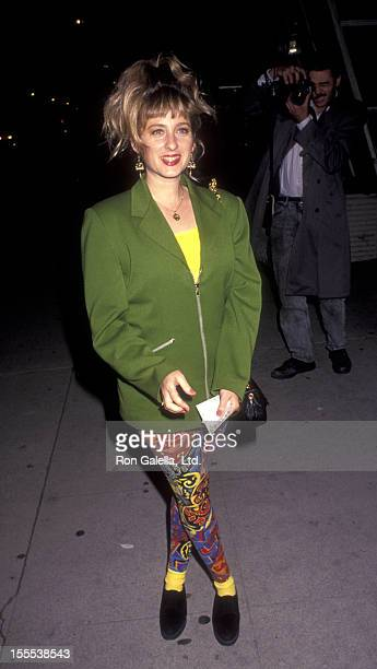 Actress Kimmy Robertson attends the performance of Brooklyn Laundry on May 1 1991 at the Coronet Theater in Century City California