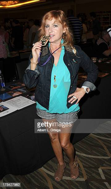 Actress Kimmy Robertson participates in The Hollywood Show held at Westin LAX Hotel on July 13 2013 in Los Angeles California