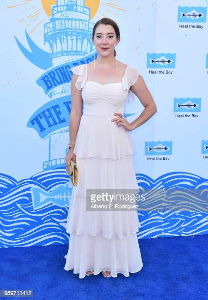 Actress Kimmy Shields attends the 2018 Heal The Bay's Bring Back The Beach Awards Gala at The Jonathan Club on May 17 2018 in Santa Monica California