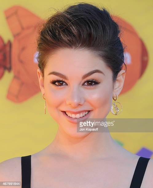 Actress Kira Kosarin arrives at Nickelodeon's 28th Annual Kids' Choice Awards at The Forum on March 28 2015 in Inglewood California