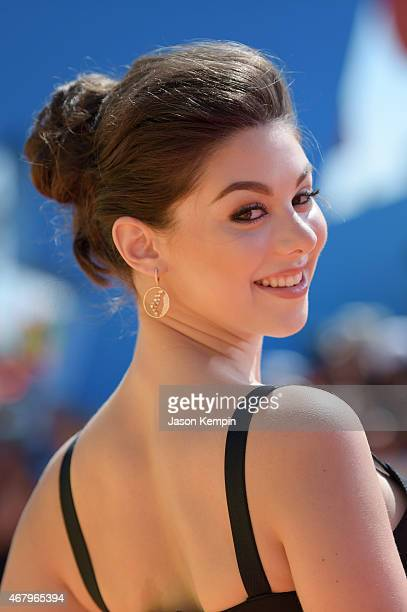 Actress Kira Kosarin attends Nickelodeon's 28th Annual Kids' Choice Awards held at The Forum on March 28 2015 in Inglewood California