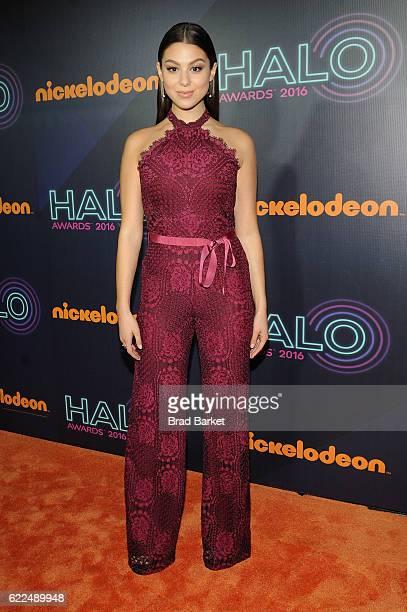 Actress Kira Kosarin attends the 2016 Nickelodeon HALO awards at Basketball City Pier 36 South Street on November 11 2016 in New York City