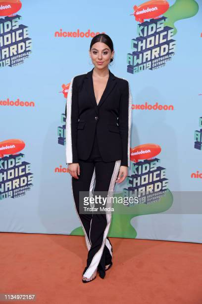 US actress Kira Kosarin attends the Nickelodeon Kids Choice Awards on April 4 2019 in Rust Germany