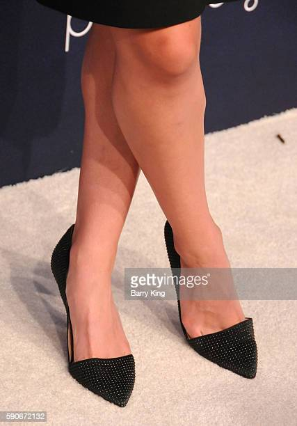 Actress Kira Kosarin, shoe detail, attends Variety's Power of Young Hollywood event, presented by Pixhug, with Platinum Sponsor Vince Camuto at...