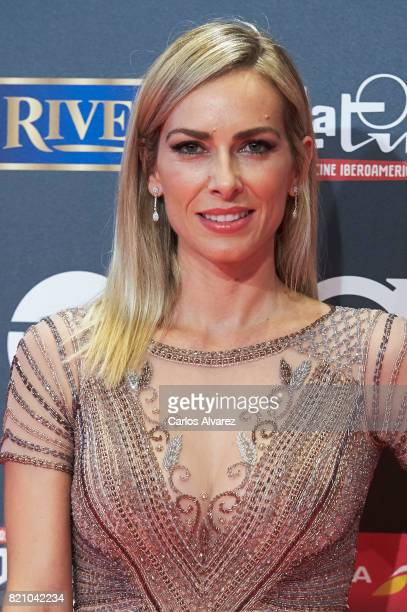 Actress Kira Miro attends the Platino Awards 2017 photocall at the La Caja Magica on July 22 2017 in Madrid Spain