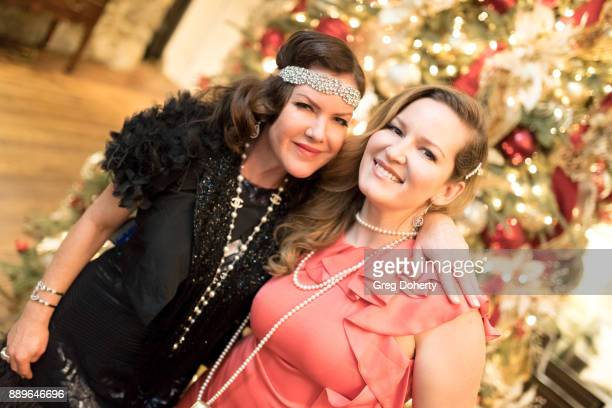 Actress Kira Reed Lorsch and Christine Troutman attend The Thalians Hollywood for Mental Health Holiday Party 2017 at the Bel Air Country Club on...