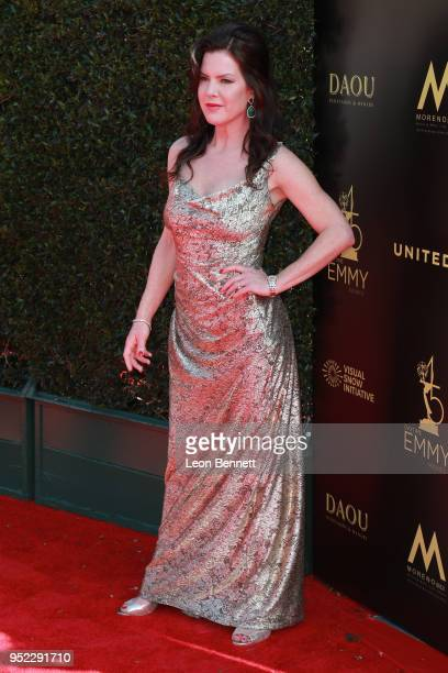 Actress Kira Reed Lorsch attends the 45th Annual Daytime Creative Arts Emmy Awards Arrivals at Pasadena Civic Auditorium on April 27 2018 in Pasadena...