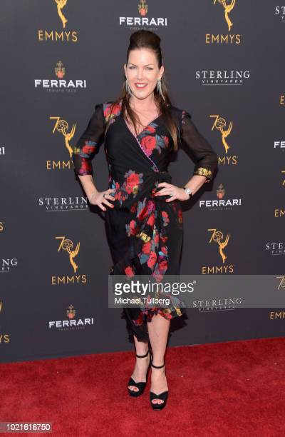 Actress Kira Reed Lorsch attends the Television Academy's Daytime Programming Peer Group Reception at Saban Media Center on August 22 2018 in North...