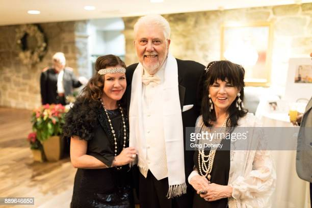 Actress Kira Reed Lorsch Larry Wolfe and Barbara CohenWolfe attend The Thalians Hollywood for Mental Health Holiday Party 2017 at the Bel Air Country...