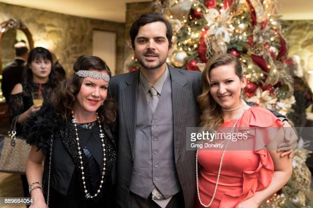 Actress Kira Reed Lorsch Lee Troutman and Christine Troutman attend The Thalians Hollywood for Mental Health Holiday Party 2017 at the Bel Air...