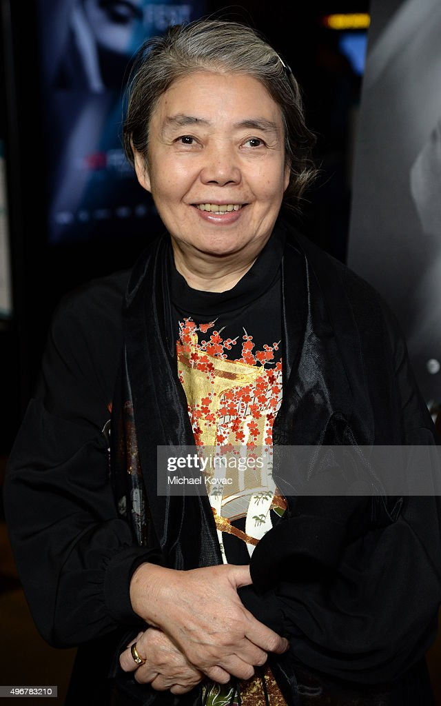 Actress Kirin Kiki attends 'On Directing: A Conversation with Ridley Scott' during AFI FEST 2015 presented by Audi at TCL Chinese 6 Theatres on November 11, 2015 in Hollywood, California.