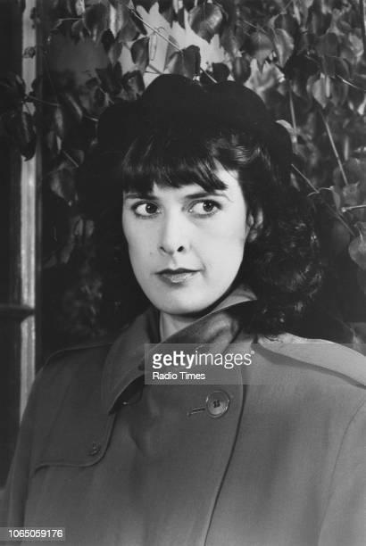 Actress Kirsten Cooke in a scene from the television sitcom ''Allo 'Allo' June 15th 1984