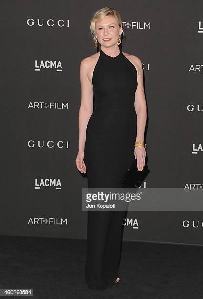 Actress Kirsten Dunst arrives at the 2014 LACMA Art Film Gala Honoring Quentin Tarantino And Barbara Kruger at LACMA on November 1 2014 in Los...