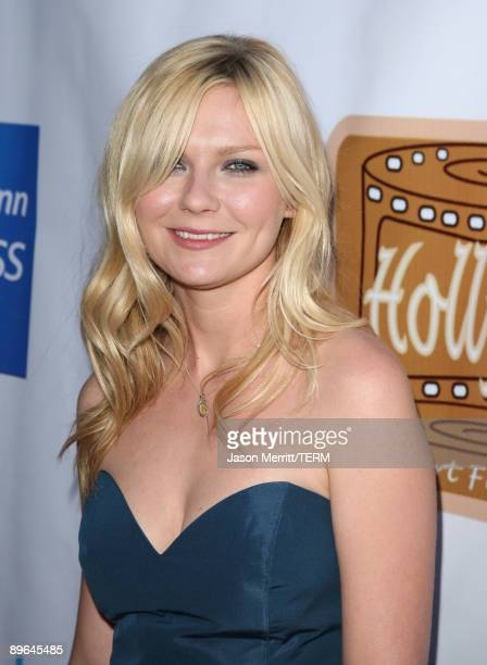 Actress Kirsten Dunst arrives at the 5th Annual HollyShorts 2009 Opening Night Celebration held at the Directors Guild of America on August 6, 2009...
