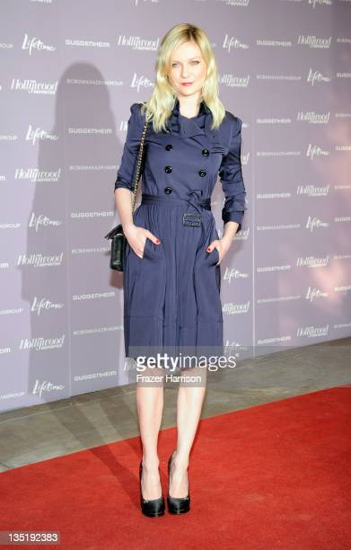 Actress Kirsten Dunst arrives at The Hollywood Reporter's Annual 'Power 100 Women In Entertainment Breakfast' at The Beverly Hills Hotel on December...
