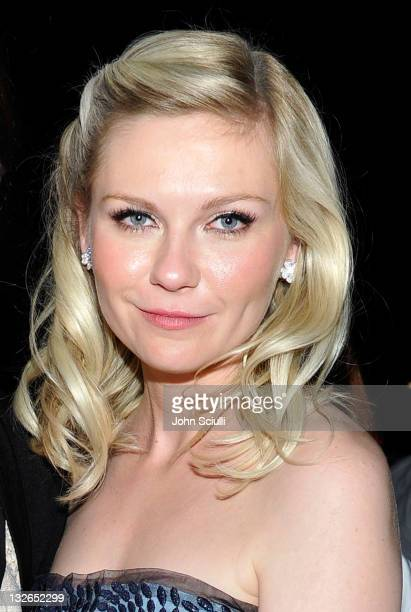 Actress Kirsten Dunst attends 2011 MOCA Gala An Artist's Life Manifesto Directed by Marina Abramovic at MOCA Grand Avenue on November 12 2011 in Los...