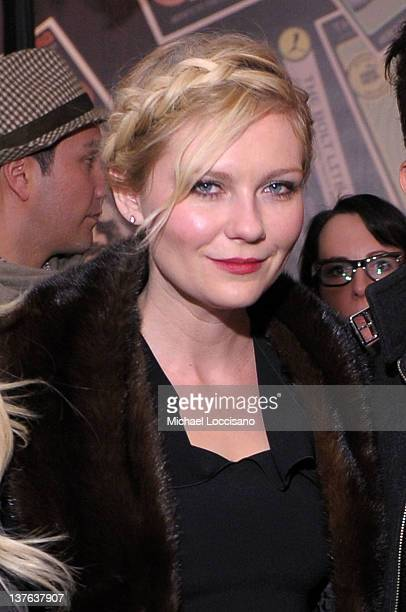 Actress Kirsten Dunst attends 'Bachelorette' Premiere Party hosted by SIMPLENIGHT at Stella Artois By Ally B At TMobile Google Music Village At The...