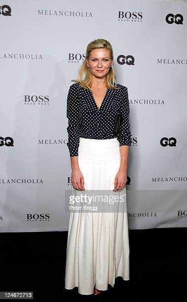 Actress Kirsten Dunst attends Hugo Boss / GQ Party at The 2011 Toronto International Film Festival at Hugo Boss Store on September 10 2011 in Toronto...