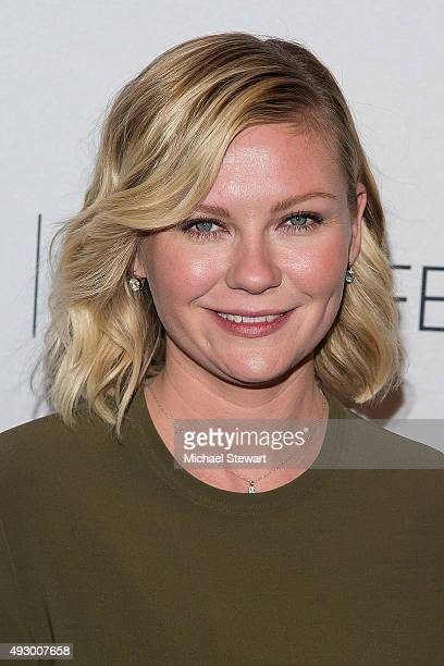 Actress Kirsten Dunst attends PaleyFest New York 2015 'Fargo' at The Paley Center for Media on October 16 2015 in New York City