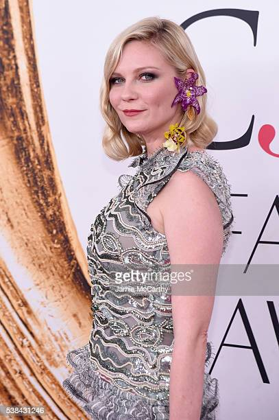 Actress Kirsten Dunst attends the 2016 CFDA Fashion Awards at the Hammerstein Ballroom on June 6 2016 in New York City