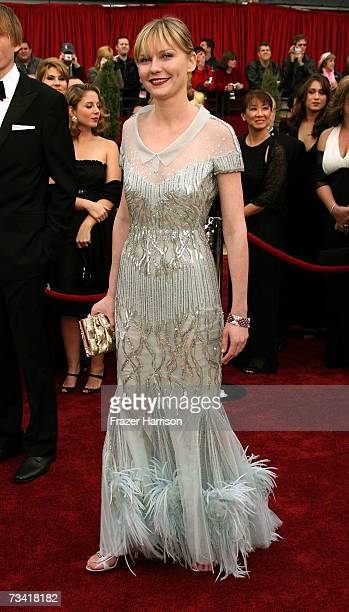 Actress Kirsten Dunst attends the 79th Annual Academy Awards held at the Kodak Theatre on February 25, 2007 in Hollywood, California.