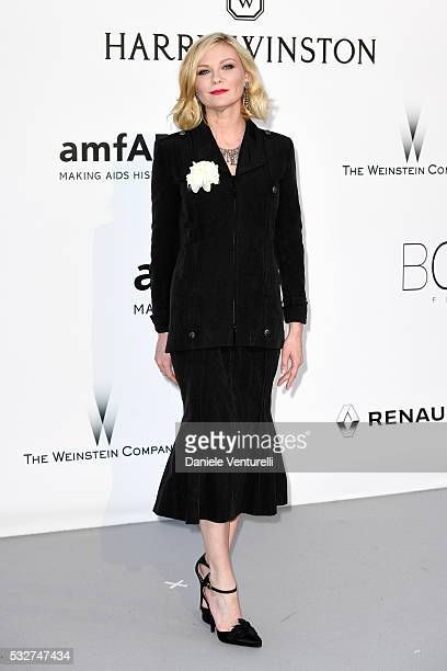 Actress Kirsten Dunst attends the amfAR's 23rd Cinema Against AIDS Gala at Hotel du CapEdenRoc on May 19 2016 in Cap d'Antibes France