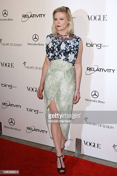 """Actress Kirsten Dunst attends the Art Of Elysium """"Heaven"""" Gala 2011 at The California Science Center Exposition Park on January 15, 2011 in Los..."""