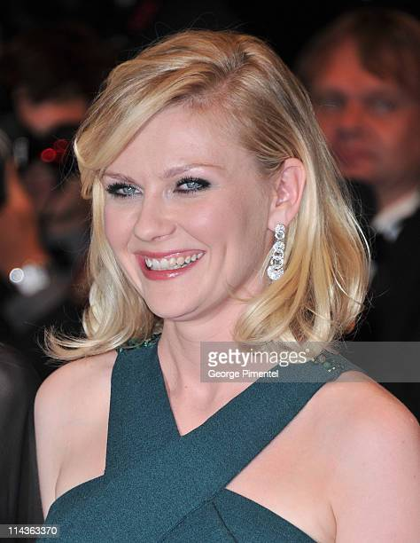 Actress Kirsten Dunst attends the 'Melancholia' Premiere during the 64th Cannes Film Festival at the Palais des Festivals on May 18 2011 in Cannes...