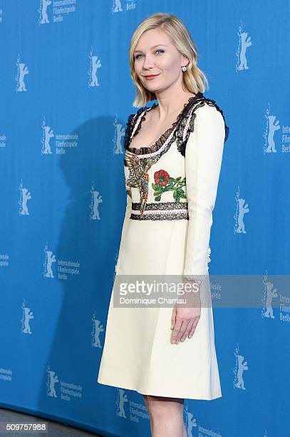 Actress Kirsten Dunst attends the 'Midnight Special' photo call during the 66th Berlinale International Film Festival Berlin at Grand Hyatt Hotel on...